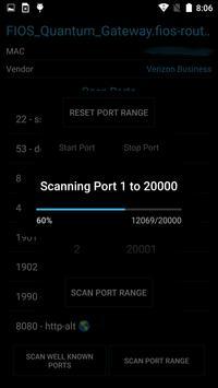Port Authority - LAN Host Discovery & Port Scanner apk screenshot