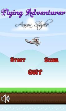 FLYING ADVENTURER poster