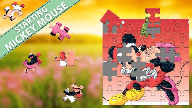 Puzzle For Mickey and Mouse poster