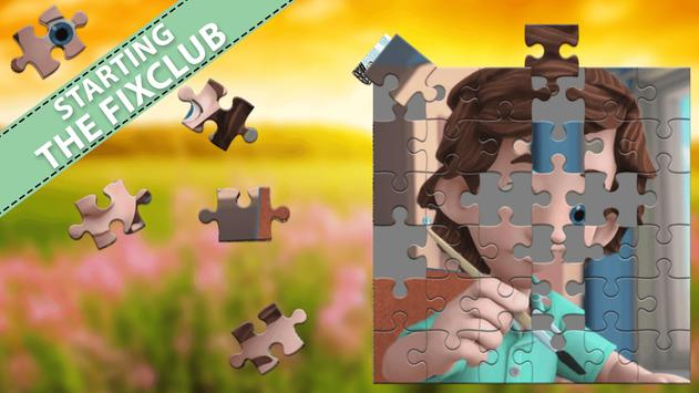 Puzzle For The Fixit poster