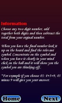 Amazing Mind Reader screenshot 1