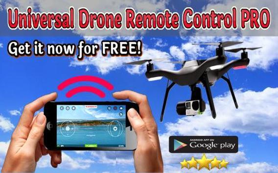 Universal Drone Remote Control PRO poster