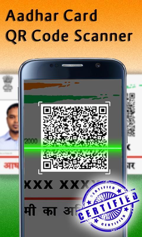Aadhaar Card Edit QR Code scan for Android - APK Download