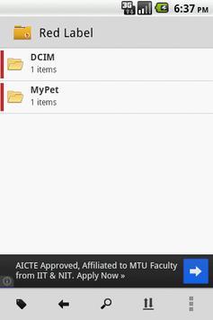B - File Manager screenshot 1