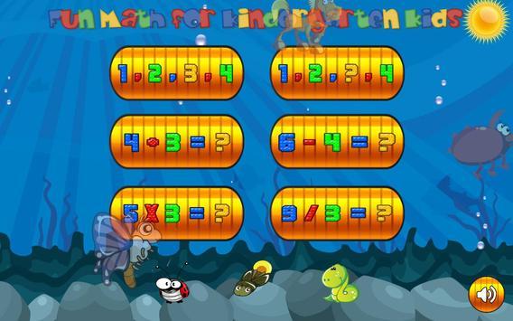 Fun math game for kids online screenshot 1