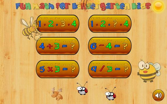 Math games for kids - numbers, counting, math poster