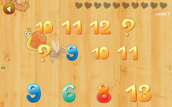 Math games for kids - numbers, counting, math screenshot 14