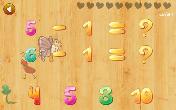 Math games for kids - numbers, counting, math screenshot 16