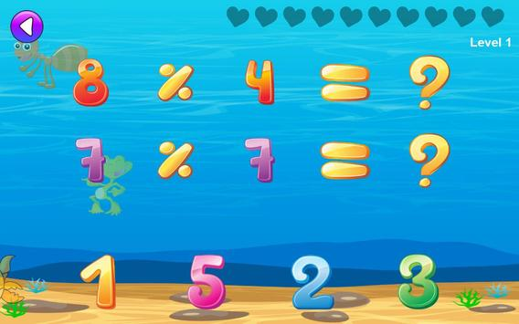 Math games for kids : times tables training screenshot 6