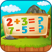 Easy Math Games For Kids Free icon