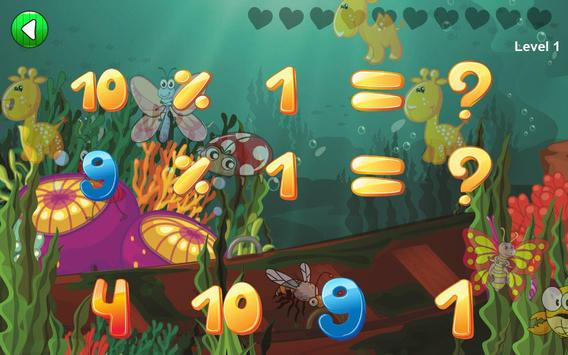 Easy Math Games For Kids Free screenshot 5