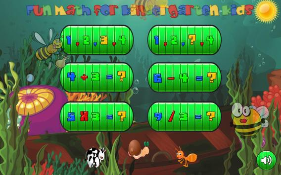 Easy Math Games For Kids Free poster
