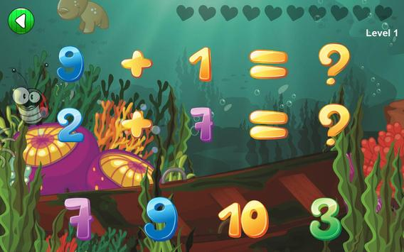 Easy Math Games For Kids Free screenshot 2