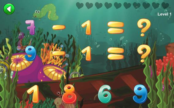Easy Math Games For Kids Free screenshot 3