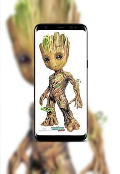 Baby Groot Wallpapers HD screenshot 3