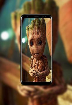 Baby Groot Wallpapers HD poster