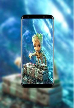 Baby Groot Wallpapers HD screenshot 1