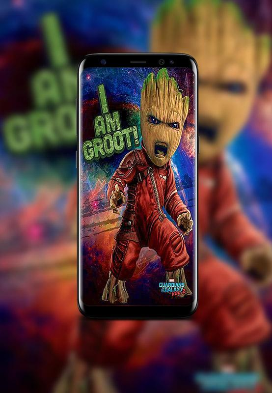 Baby Groot Wallpapers Hd For Android Apk Download