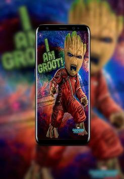 Baby Groot Wallpapers HD screenshot 2
