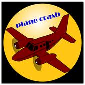 plane crash icon