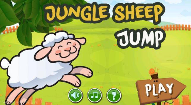 Jungle Sheep Jump poster