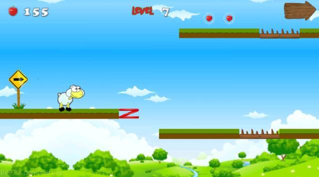 Jungle Sheep Jump screenshot 2