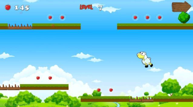 Jungle Sheep Jump screenshot 5