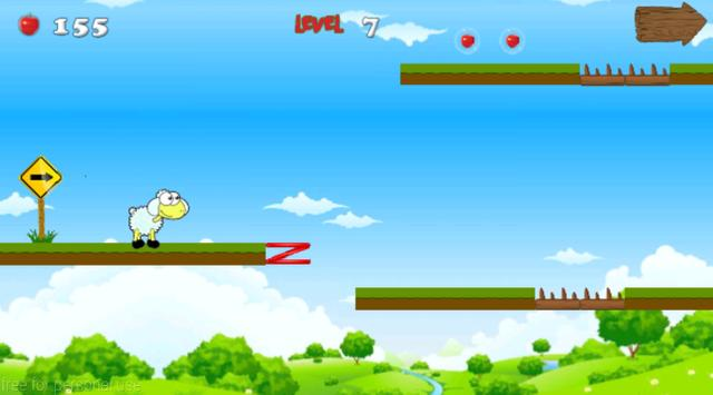 Jungle Sheep Jump screenshot 8