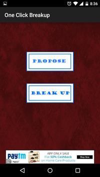 One Click Breakup poster