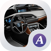 Car Theme ABC launcher icon