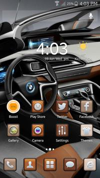 Car Theme ABC launcher apk screenshot