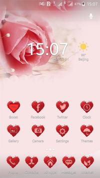 Pink Love Theme,Wallpaper poster