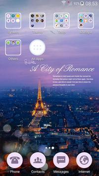 Romantic love theme apk screenshot