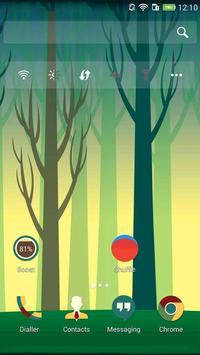 Galaxy lost theme apk screenshot