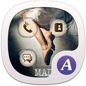 I Miss You ABC Launcher Theme icon