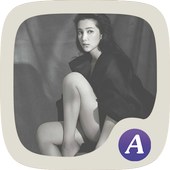Little black dress theme-ABC icon