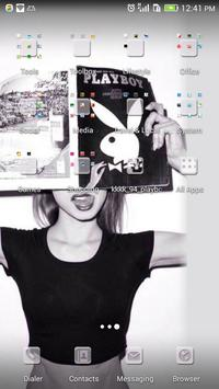 Fashionable playgirl theme-ABC apk screenshot