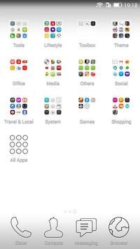 Simple style theme apk screenshot