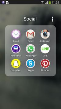 Transparent Screen Theme apk screenshot