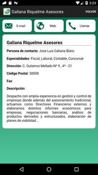 6 Schermata Cuentas Plan General Contable