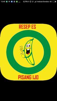 Resep Es Pisang Ijo poster