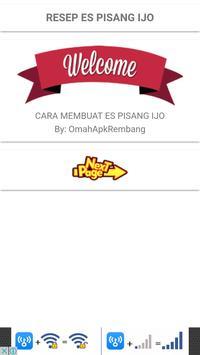 Resep Es Pisang Ijo screenshot 1
