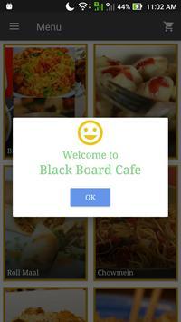 Black Board Cafe, Guwahati poster
