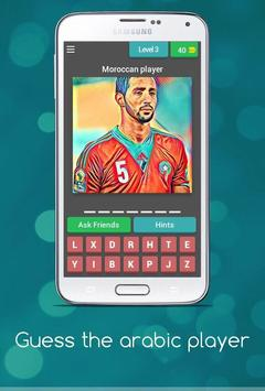 Guess the arabic player poster