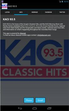 KACI 93.5 screenshot 1