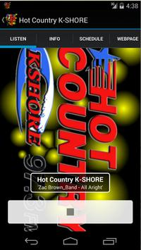 Hot Country K-SHORE poster