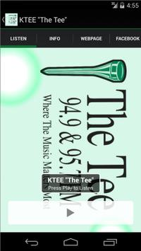 """KTEE """"The Tee"""" poster"""
