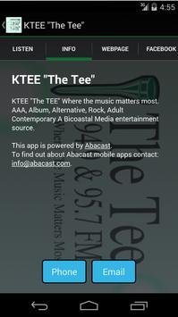 "KTEE ""The Tee"" apk screenshot"