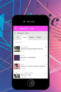 Cold - Maroon 5 apk screenshot