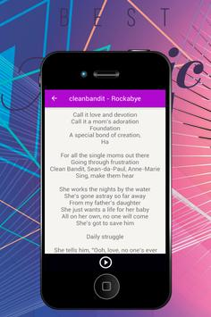 Clean Bandit - Rockabye apk screenshot